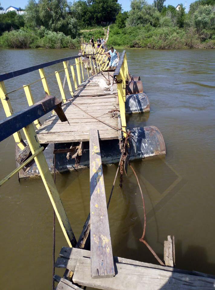 В Ишиме власти решили снести мост вместо его ремонта