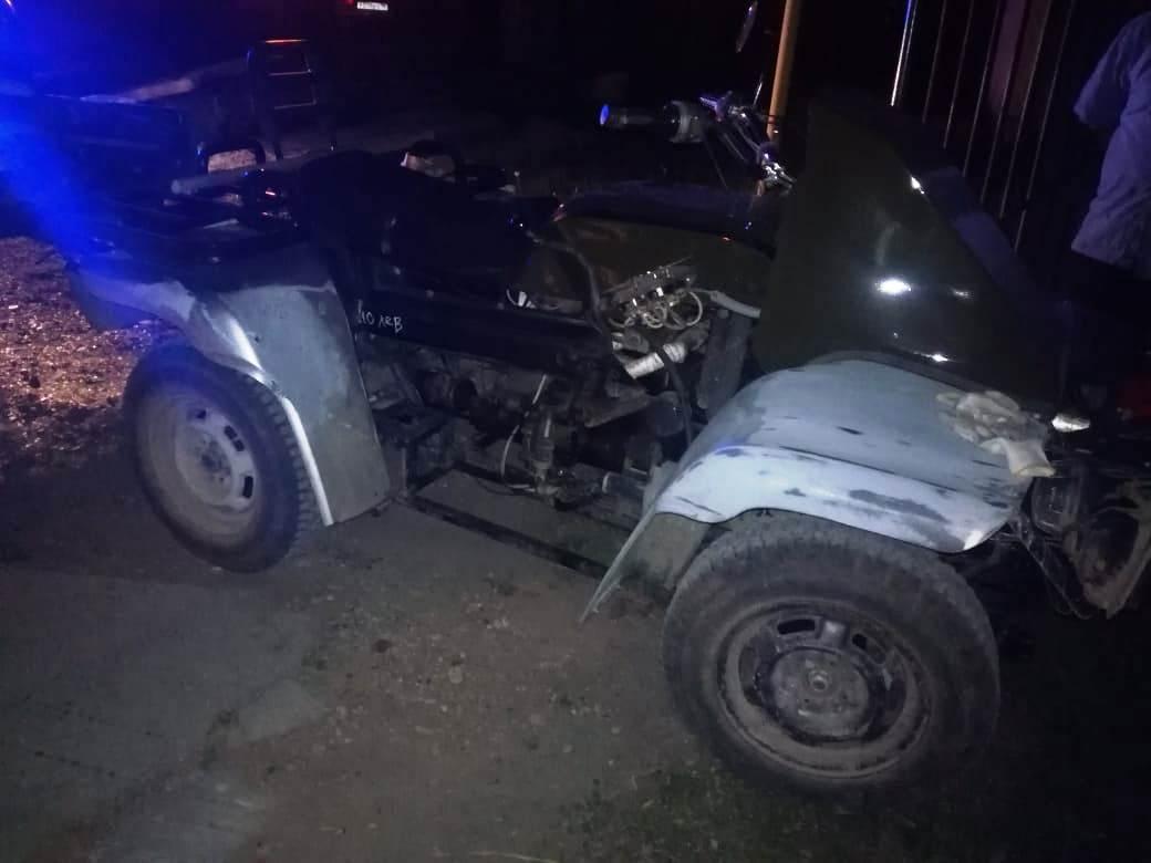 В Монастырке задержали пьяного водителя за рулем мотоконструктора