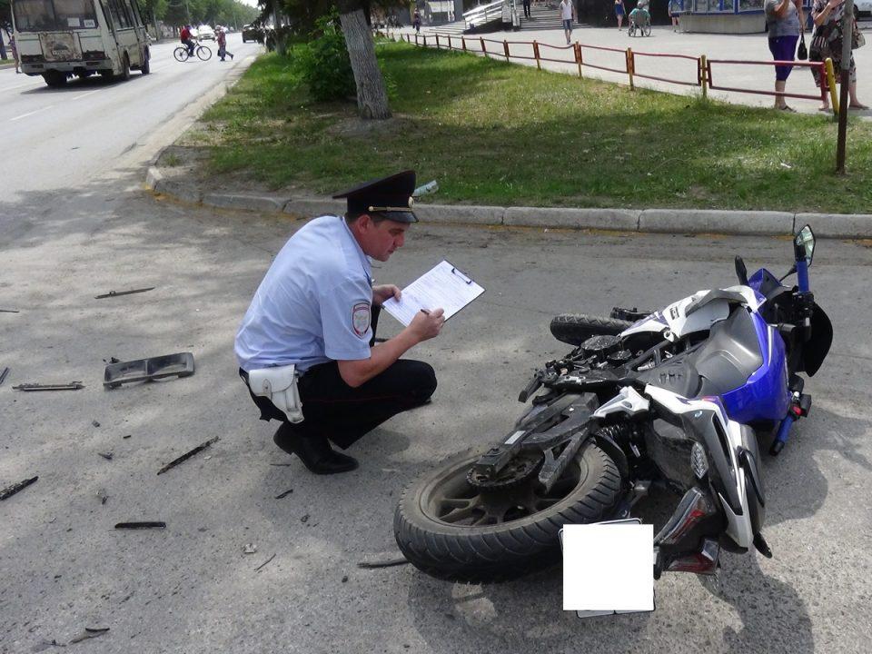 В Каменске-Уральском резко выросло количество ДТП с мотоциклами