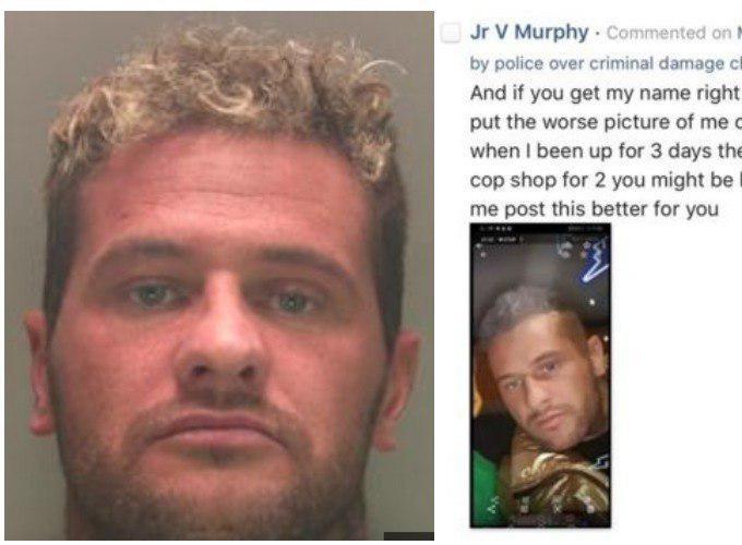 Преступник прислал в полицию красивое селфи для замены фото в ориентировке