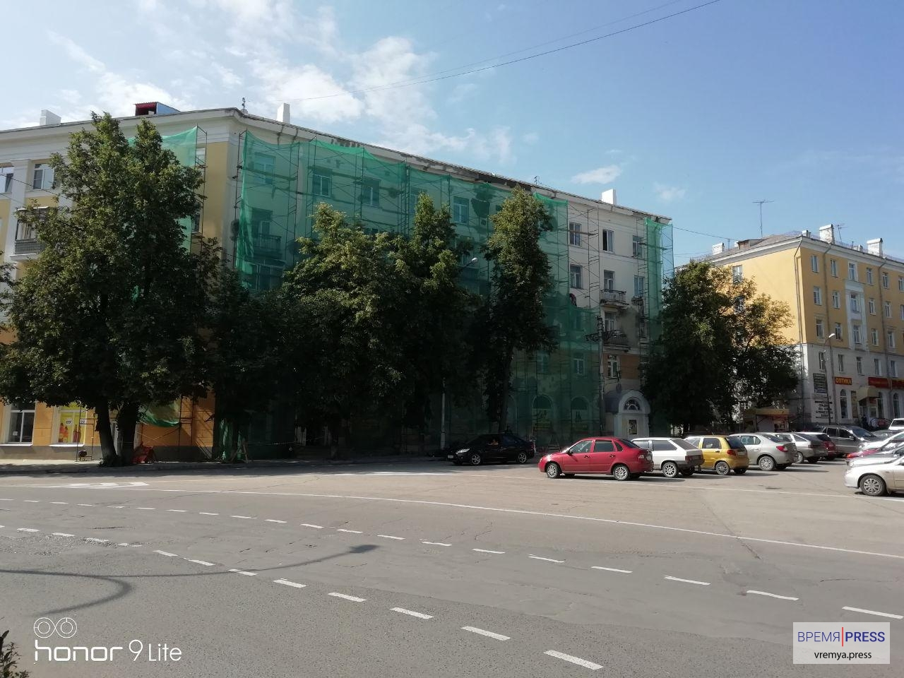 Капитальный ремонт домов на площади Горького