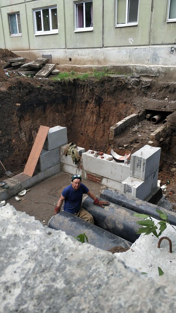 Модернизация участка тепловой сети идёт на Белинского и 4-й Пятилетки