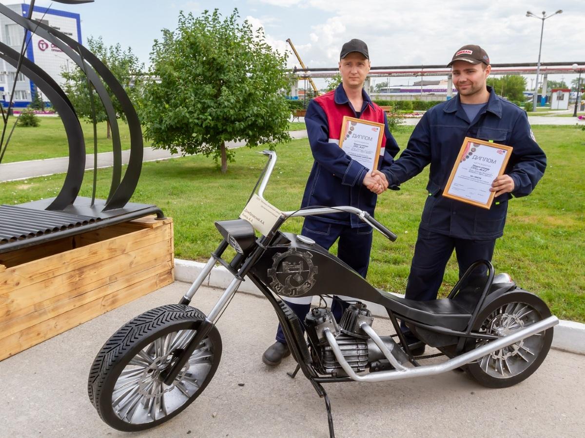 На Трубном заводе провели конкурс парковый изделий