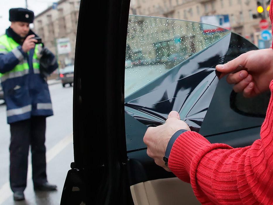 В ГИБДД рассказали, как тонировка может лишить регистрации на машину