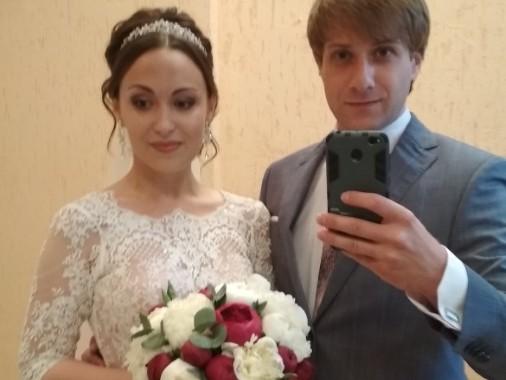 Артисты Драмы №3 Татьяна Васильева и Сергей Юсупов сыграли свадьбу