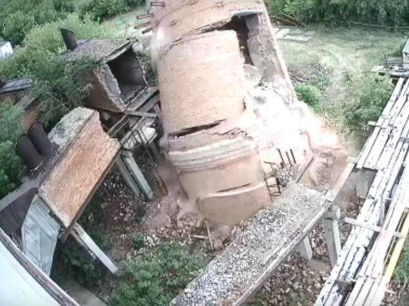 Трубы котельной в старом Каменске больше нет (внушительное видео)