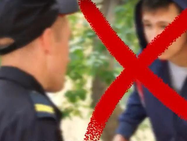 Челябинская полиция сняла обучающий ролик по обращению с представителями власти