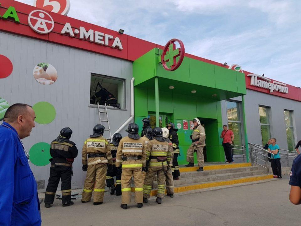 В магазине Челябинска рухнули перекрытия, внутри были покупатели