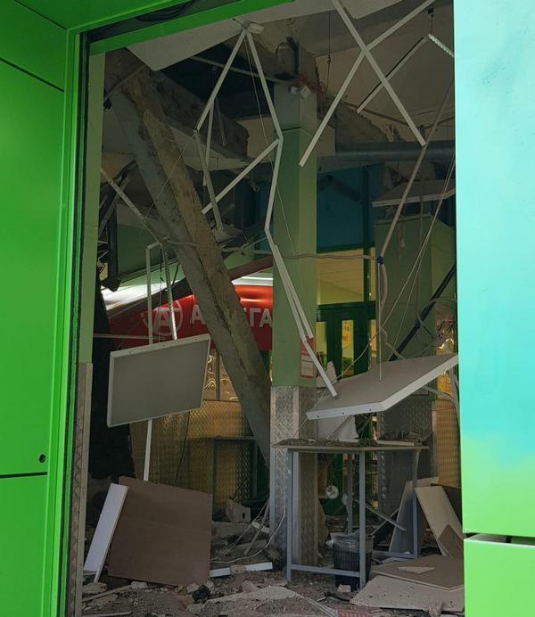 В магазине Челябинска рухнули перекрытия