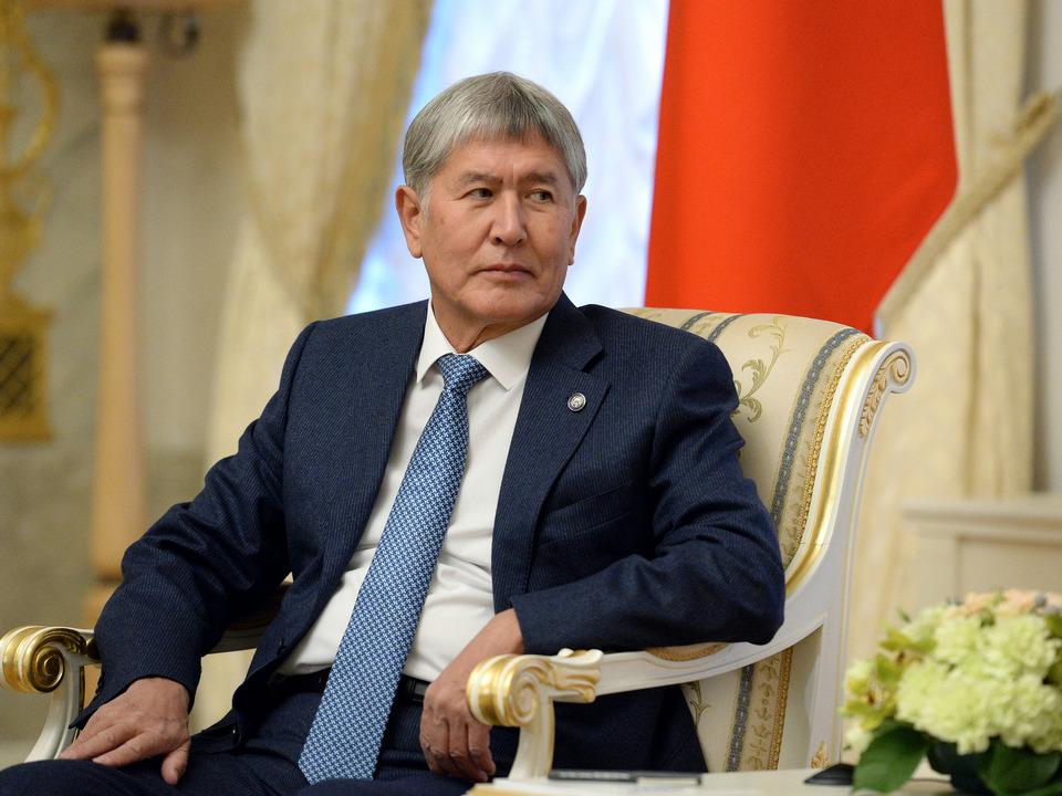 Атамбаев арестован
