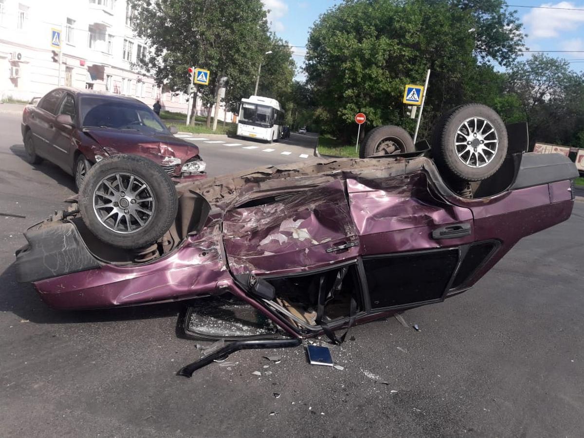 ГИБДД прокомментировала в ДТП на перекрёстке Алюминиевая - Октябрьская