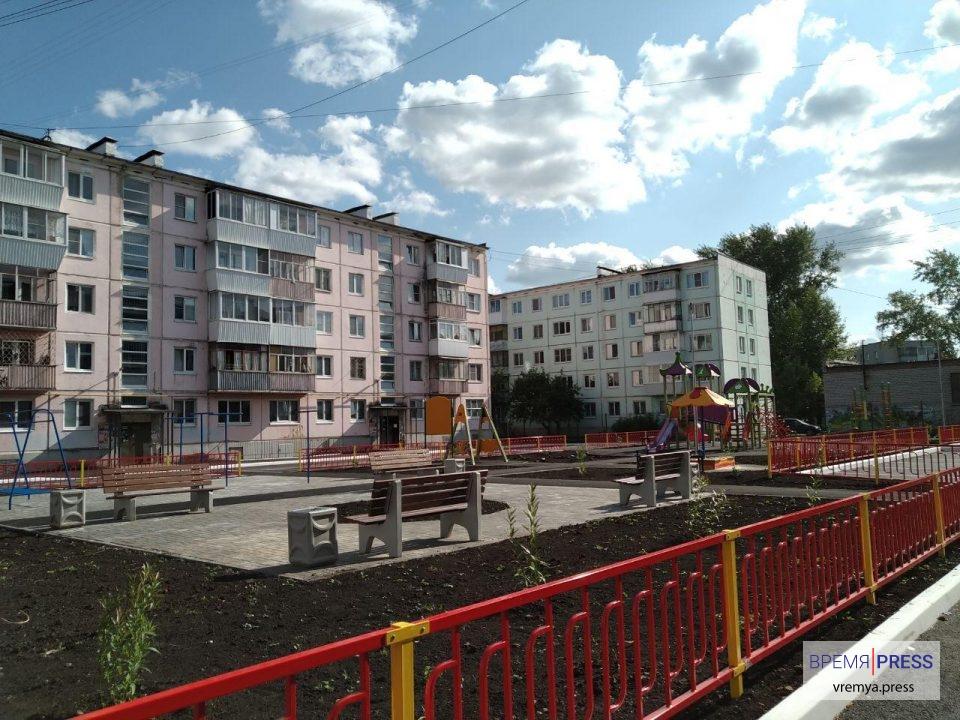 Каменск-Уральский получит 52 миллиона рублей на благоустройтсво придомовых территорий