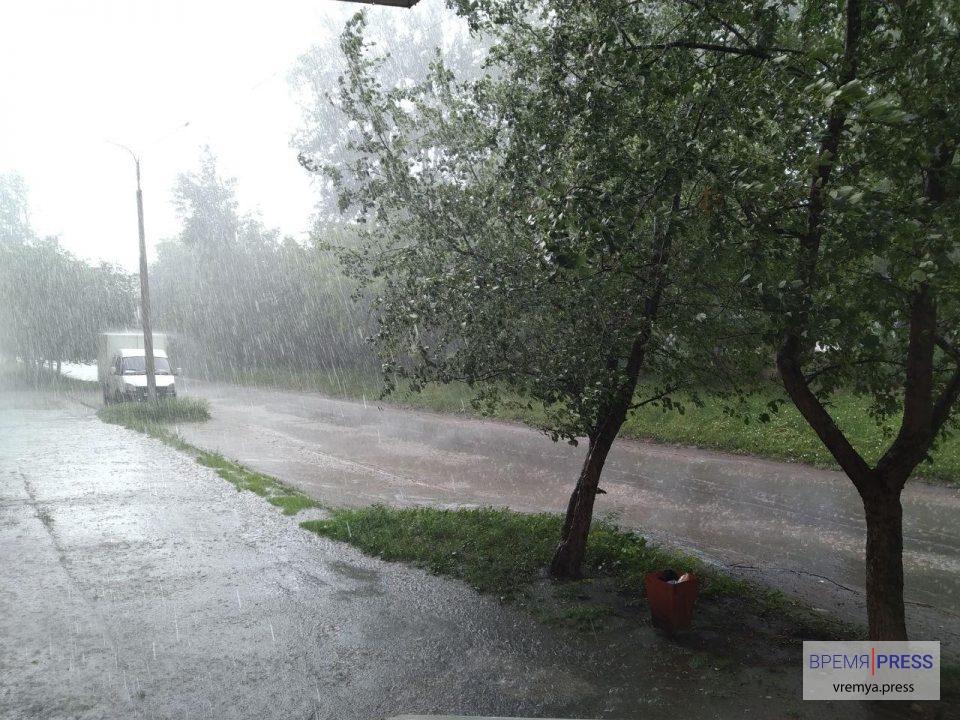 Штормовое предупреждение в Каменске-Уральском объявлено на 3 августа