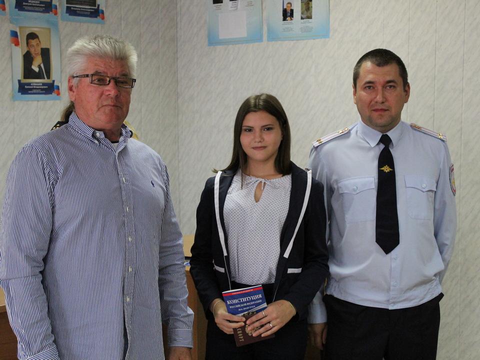 15 подростков Каменского района торжественно получили паспорта