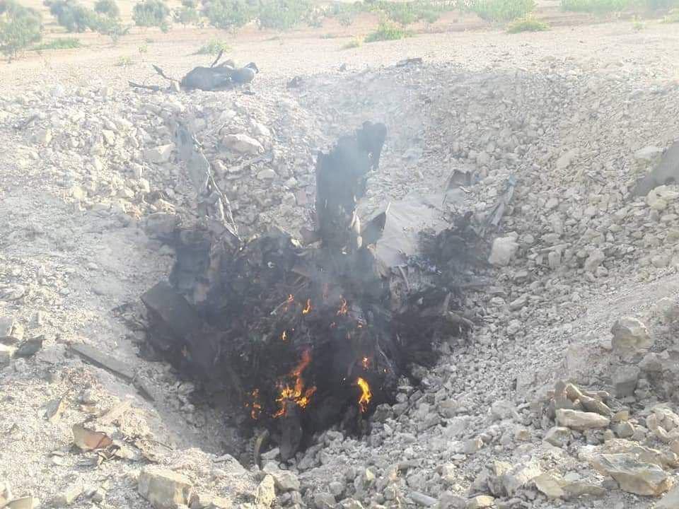 В Сирии террористы сбили истребитель Су-22М3
