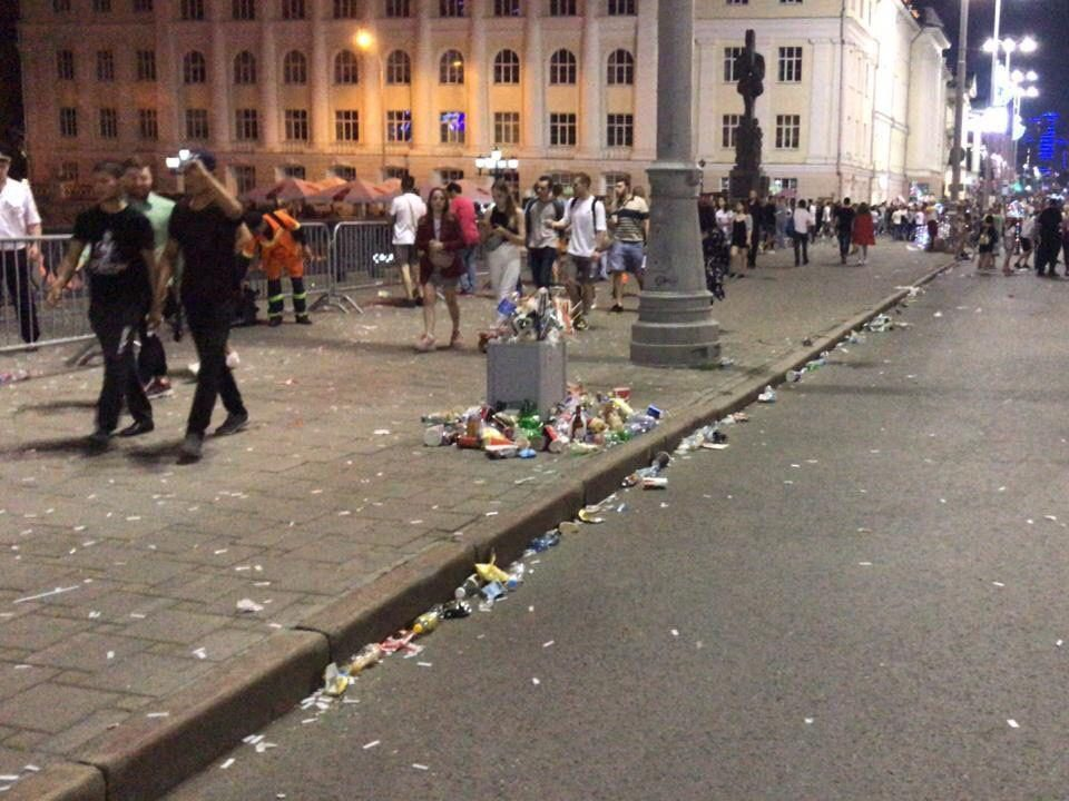 День города в Екатеринбурге посетили 1 200 000 человек