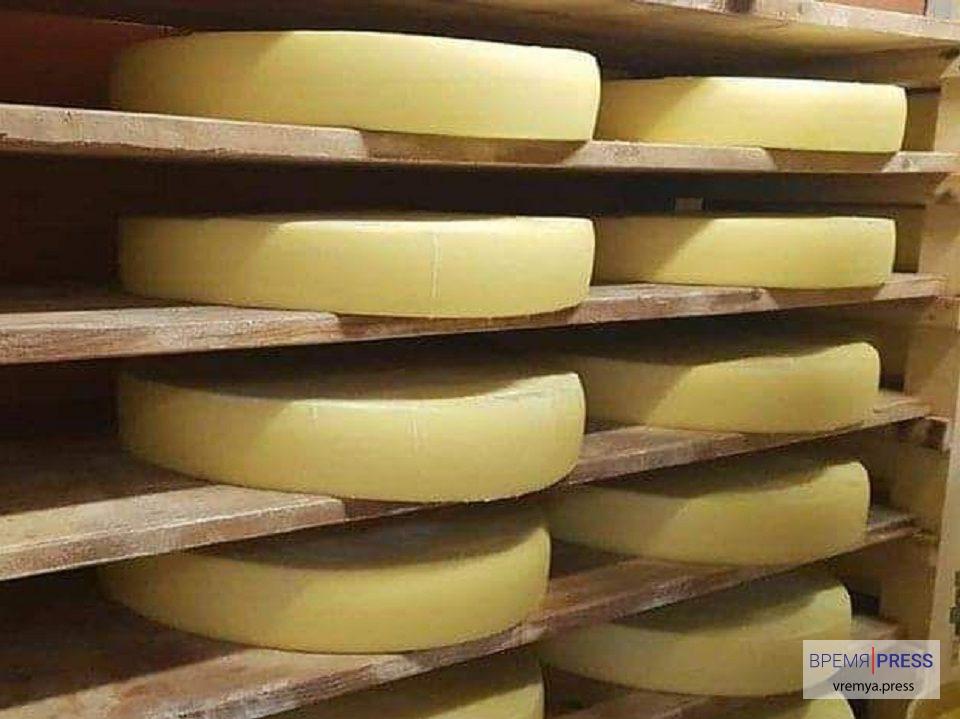 Сыр из частной сыроварни Франции