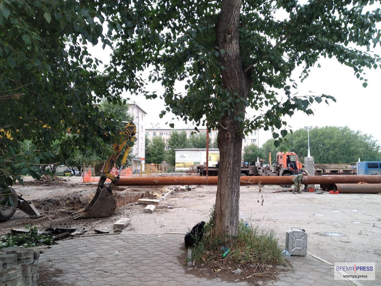 Горячая вода в Синарском районе появится вечером в среду, 14 августа