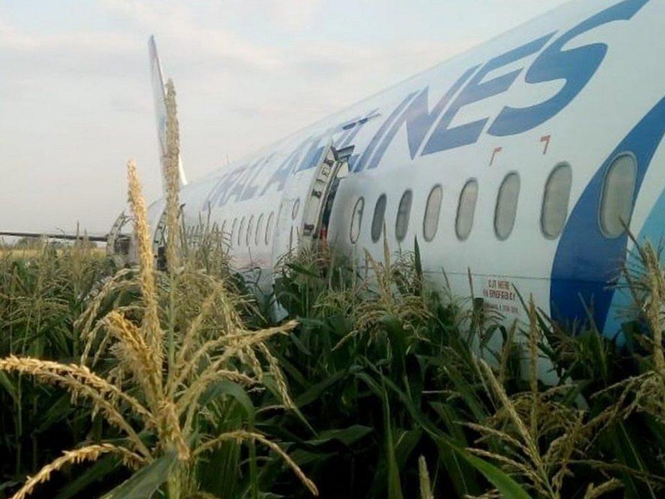 Пилотов, совершивших аварийную посадку в Подмосковье, отстранили от полётов