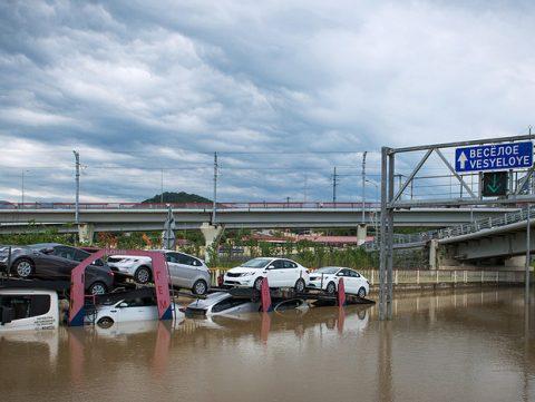 Сочи затоплен, власти готовятся к эвакуации людей