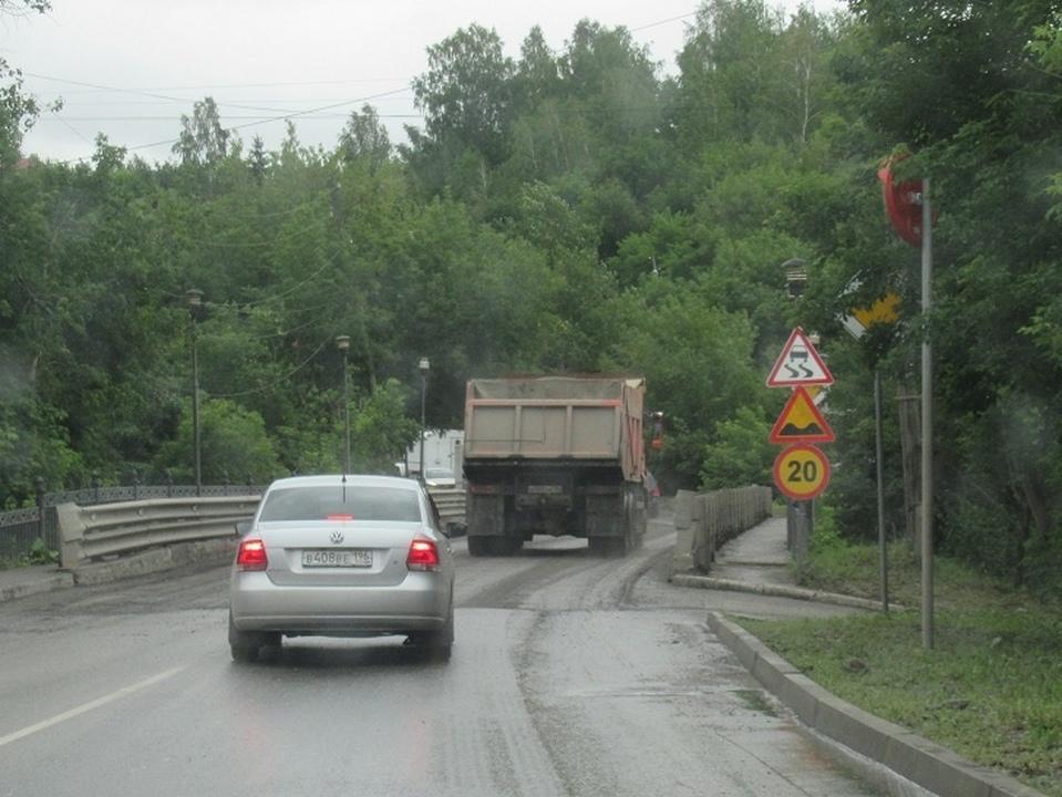 Движение по мосту в Старом Каменске полностью перекроют на один день
