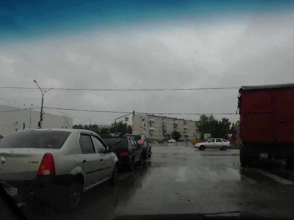 В Синарском районе не работают светофоры