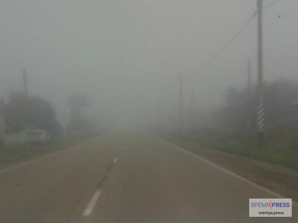Екатеринбург и Каменский район окутал туман