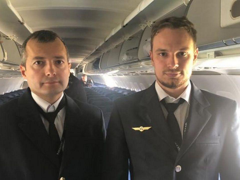 Второго пилота А321 Георгия Мурзина госпитализировали в Екатеринбурге