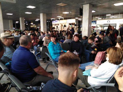 В аэропорту Челябинска отменены все утренние рейсы из-за тумана