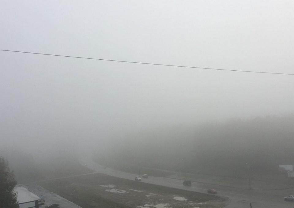Аэропорт Челябинска не принимает из-за тумана