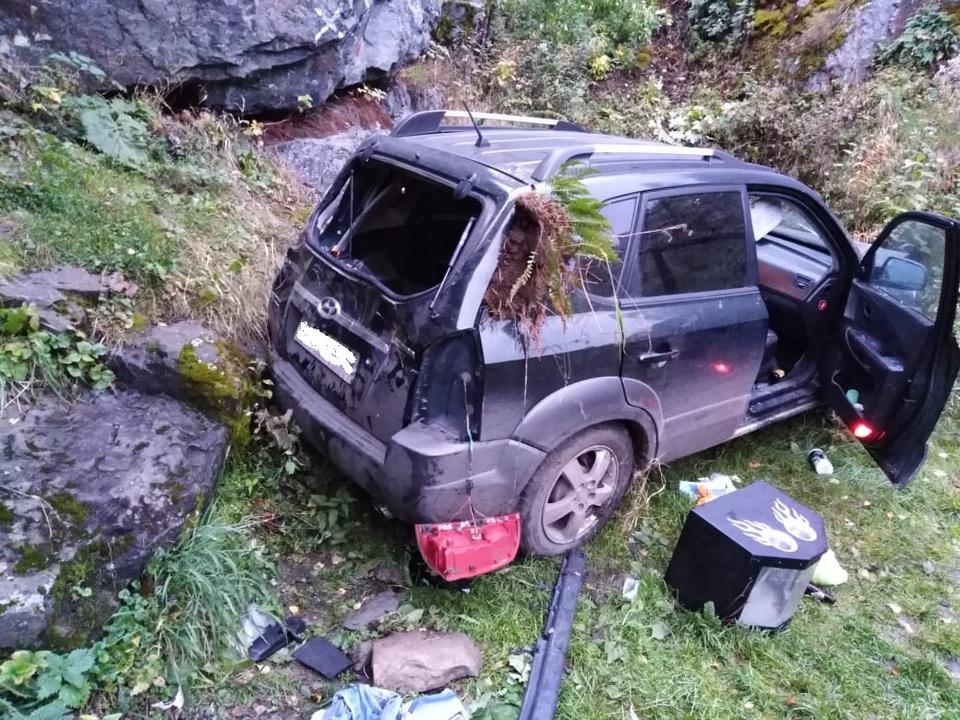 Два человека пострадали в ДТП на Ревуне в Каменском районе