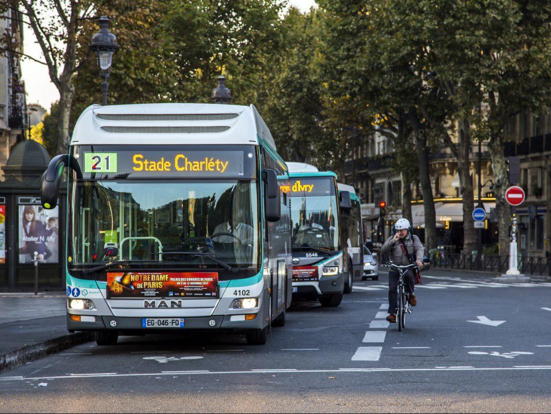 Транспортная забастовка стартовала в Париже из-за пенсионной реформы