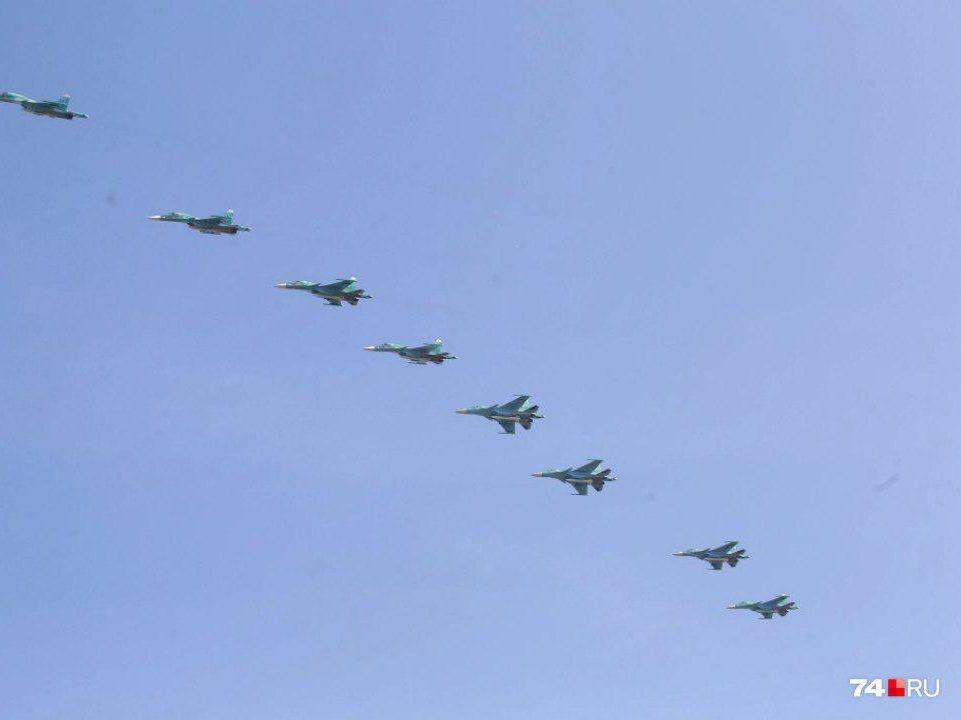 День воздушного флота отмечают в Челябинске