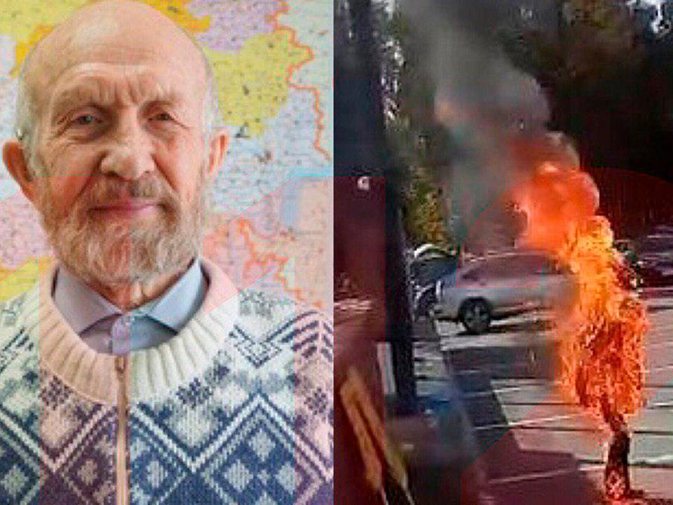 В Удмуртии скончался учёный, который поджёг себя у здания парламента