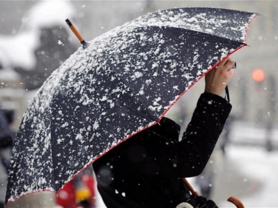 ГИБДД сообщает об ухудшении погодных условий из-за снега