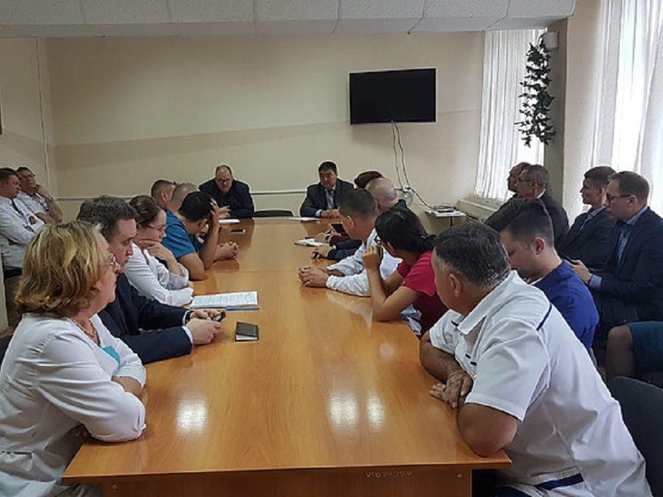 30 августа Каменск-Уральский посетил министр здравоохранения Андрей Цветков