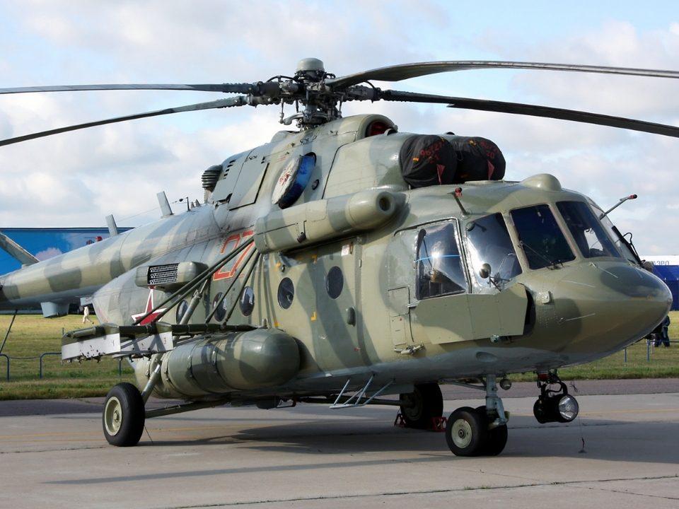 Военный вертолет Ми-8 потерпел крушение в Саратовской области