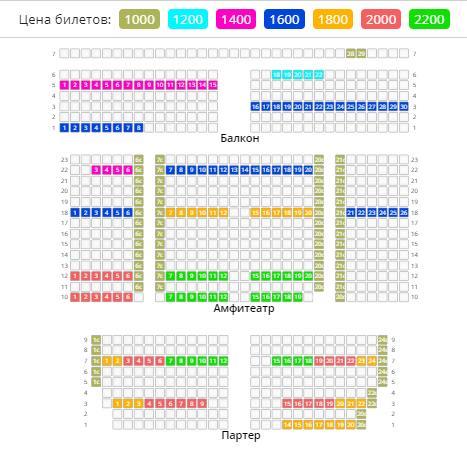 билеты на «Concord orchestra»