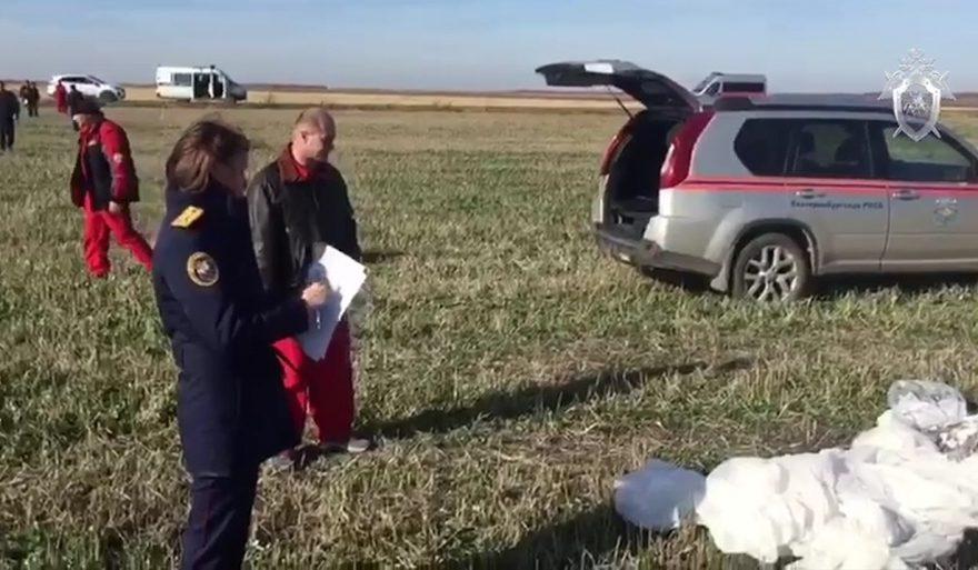 В Логиново разбился парашютист