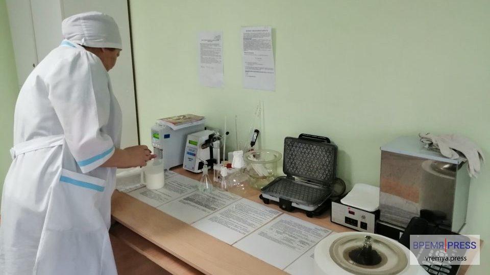 Лабораторные исследования молока