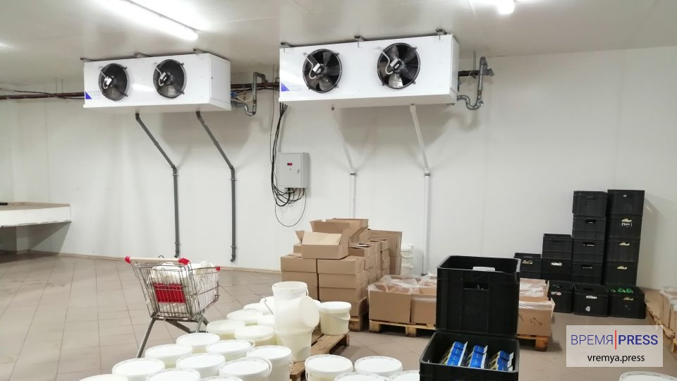 Охлаждающий цех молокозавода Олимпийская ферма