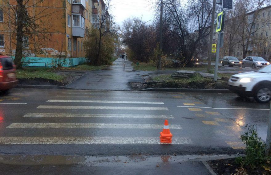 В Каменске-Уральском на пешеходном переходе сбили ребенка