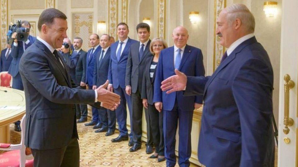 Евгений Куйвашев посетил Белоруссию