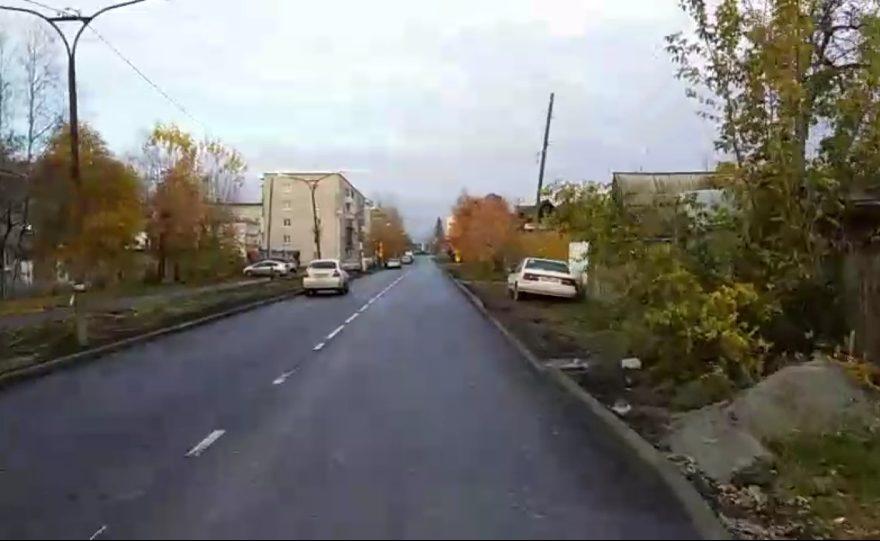 Мэр Каменска Алексей Шмыков провел объезд отремонтированных дорог