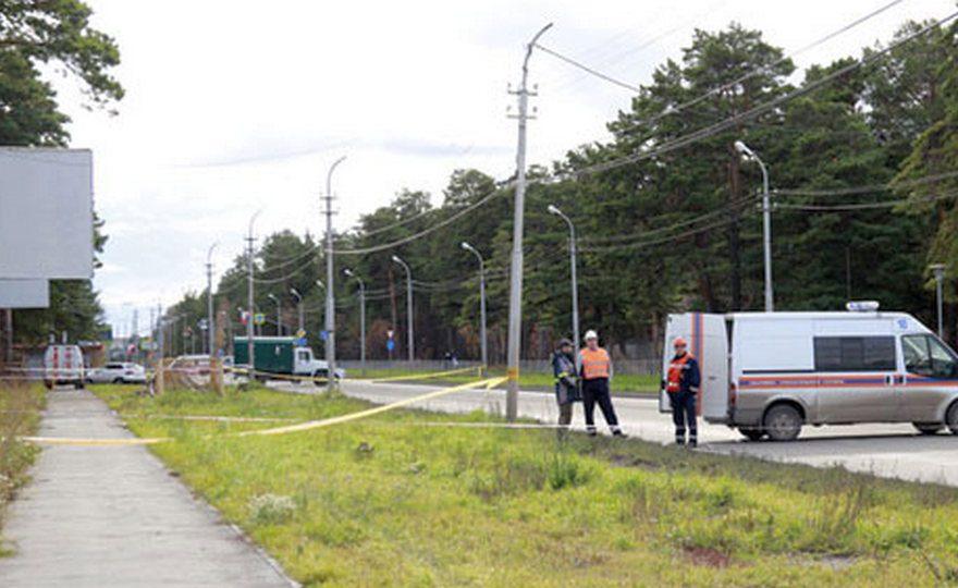 В Каменске-Уральском перекрыли часть улицы Рябова из-за повреждения газопровода