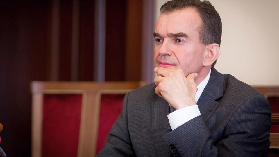 Краснодарский губернатор не выключил микрофон на заседании и наговорил много лишнего