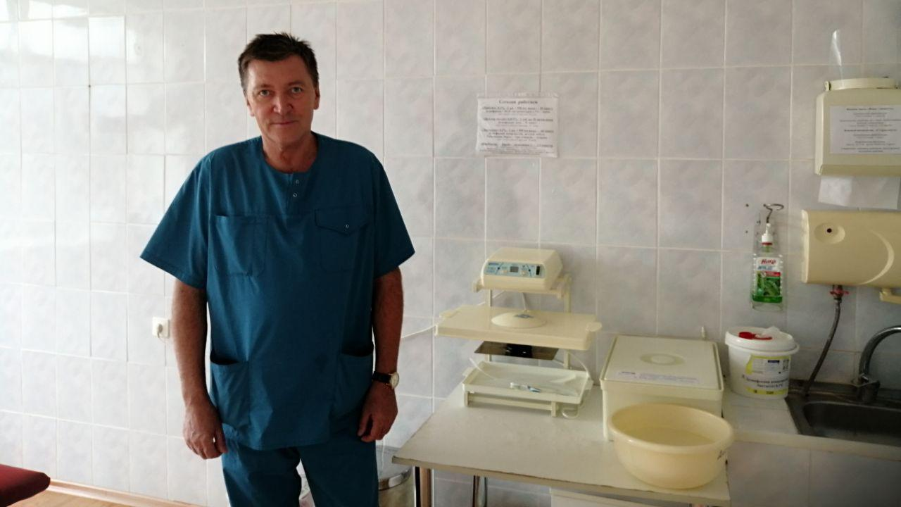 Михаил Бирючев, новый хирург из Евпатории: «Хирург - это состояние души»