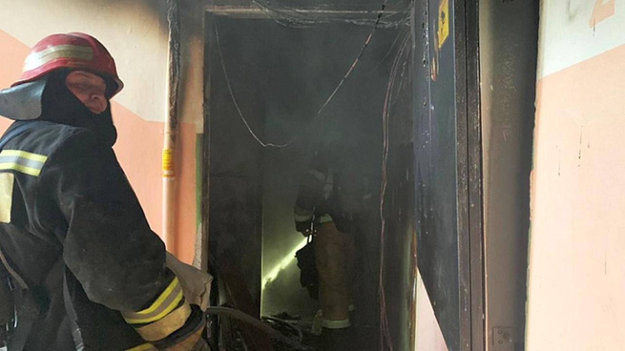 При пожаре в Екатеринбурге заживо сгорел ребенок