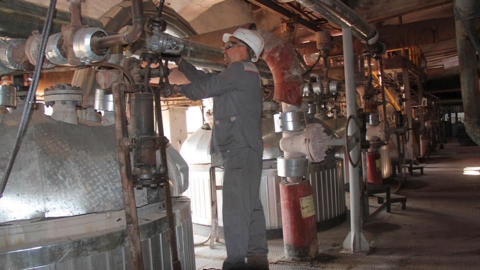На участке №2 глиноземного производства УАЗа обновлен парк основного оборудования