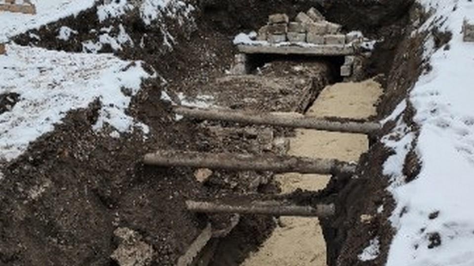 УК «Теплокомплекс» прокладывает четвертую трубу в микрорайон Ленинский